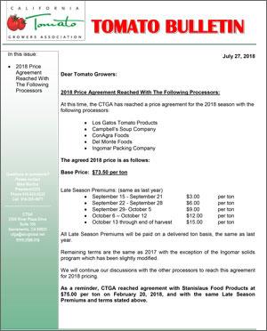 CTGA-Bulletin