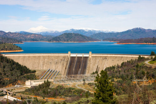 Photo of Shasta Lake Damn