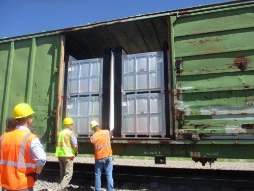 MB6 Railcar Testing